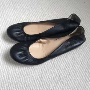 JCrew Leather Ballet Flats
